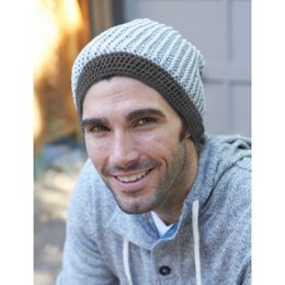 Beanie There Done (T)hat in Bernat Vickie Howell Cotton-ish - Downloadable PDF