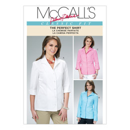 McCall's Misses' Shirts M6076 - Sewing Pattern