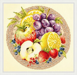 Magic Needle Fruits Cross Stitch Kit