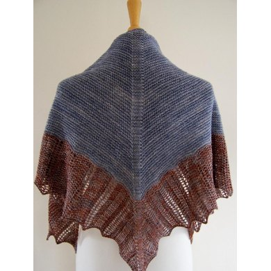 Baltic Coast Shawl
