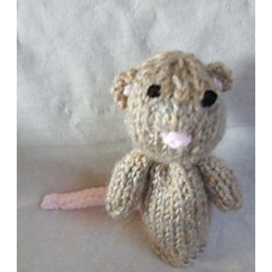 Hero Mouse Finger Puppet Knitting Pattern By Hennie Knitting