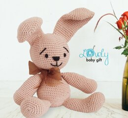 Bunny Stuffed Animal Crochet Pattern