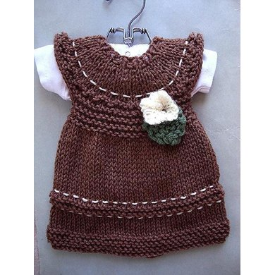 676 KNITTED dress, baby, toddler, child