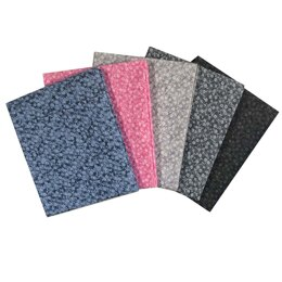 Craft Cotton Company Ditsy Blender Fat Quarter Bundle