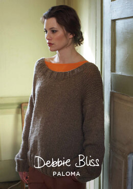 Kaitlyn Sweater in Debbie Bliss Paloma - DBS012 - Downloadable PDF