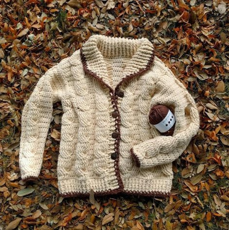 Classic Cable Cardigan