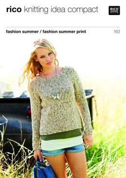 Sweater and Top in Rico Fashion Summer and Fashion Summer Print - 163