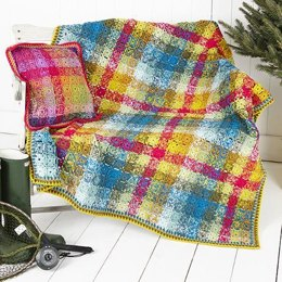 Crochet Blanket and Cushion Cover in Stylecraft Special DK - 9255 - Leaflet