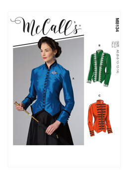 McCall's Misses' Costume M8134 - Sewing Pattern