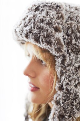 Delano Hat in Lion Brand Go For Faux - Downloadable PDF