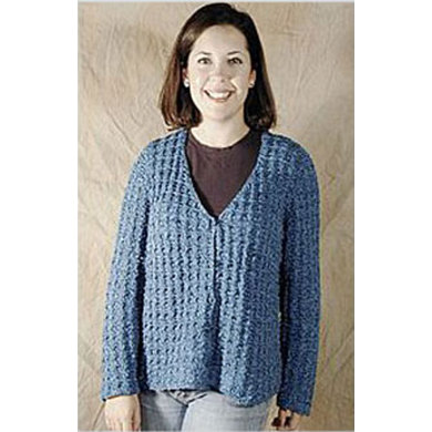 Crochet Stitch Jacket : Home Patterns Jackets Waffle Stitch Jacket in Knit One Crochet Too 2nd ...