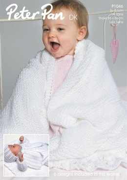 Lacy Layette in Peter Pan DK - 753