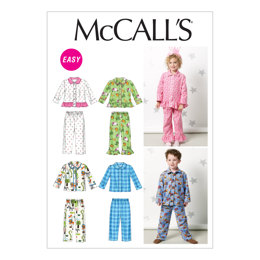 McCall's Toddlers'/Children's Tops and Pants M6458 - Sewing Pattern