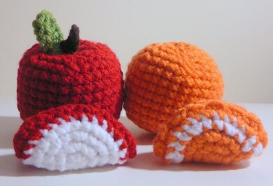 All About Crocheting — Amigurumi Apple Finished size is about 3 ... | 266x390
