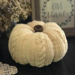 The Great Cabled Pumpkin