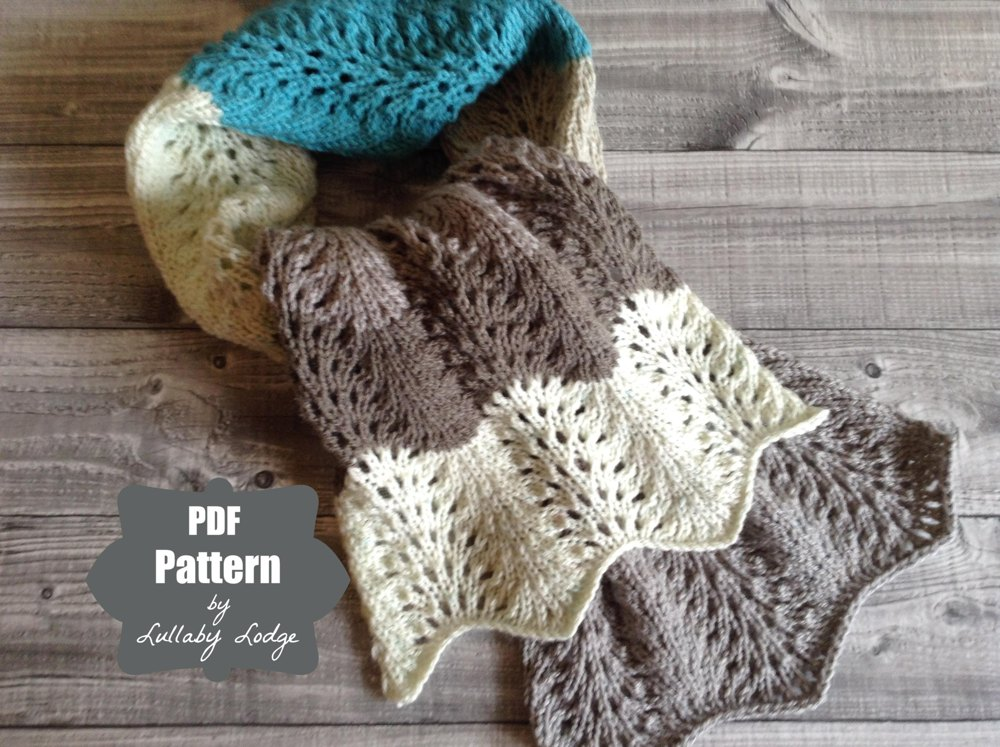 Yarn Cakes Shetland Lace Scarf Knitting Pattern By Lullaby Lodge
