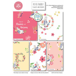 Craft Cotton Company Peter Rabbit Flowers & Dreams Fat Quarter Bundle - Multi (2727-00)