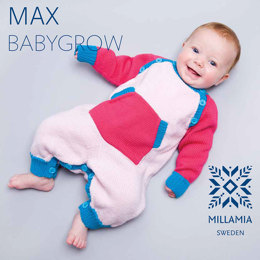 Max Babygrow in MillaMia Naturally Soft Merino