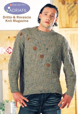 Squares Pullover in Adriafil Roller - Downloadable PDF