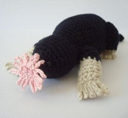 Star Nosed Mole Amigurumi Crochet Pattern