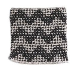 Crystal Beach Washcloth in Lion Brand Cotton-Ease - 90396AD