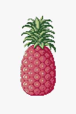 Pineapple in DMC - PAT0122 - Downloadable PDF