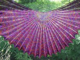 Hypernova - Shawl and Shawlette