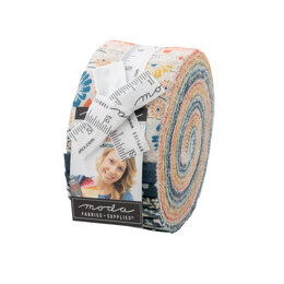 Moda Fabrics Cider 2.5in Strip Roll