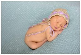Crochet Bonnet Pattern For Children & Newborn Babies
