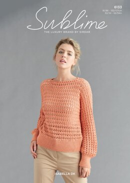Woman's V-Neck Top in Sublime Isabella - 6133 - Downloadable PDF