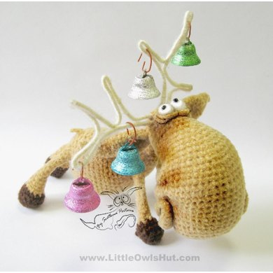 027 Moose Amigurumi toy with wire frame Ravelry