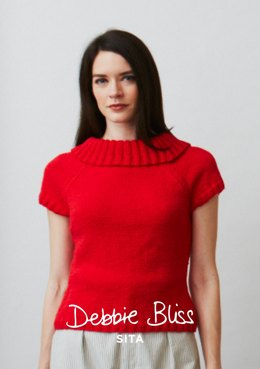 Bridgitte Jumper in Debbie Bliss Sita - PB12 - Downloadable PDF
