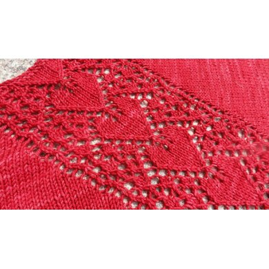 LOVE IN BLOOM [Revised] Lacy Shawl