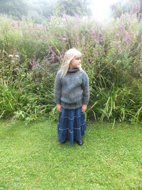 Child/Adult Slouchy Sweater