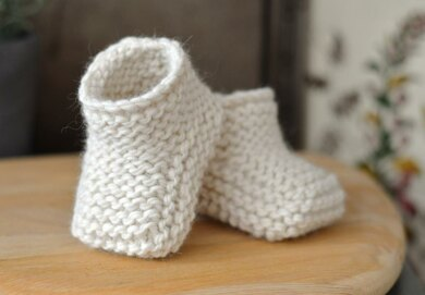 Super Chunky Baby Booties