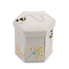 Groves Filled Bumble Bee Applique Sewing Case