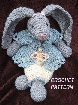 Rosalee Rabbit | Crochet Pattern   by Ashton11