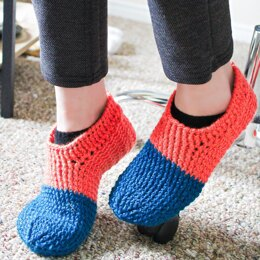 Dipped Lolly Slippers