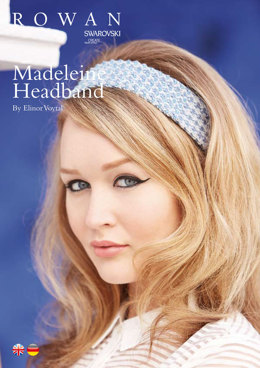 Madeleine Headband in Rowan Summerlite 4 Ply - ROC005 - Downloadable PDF