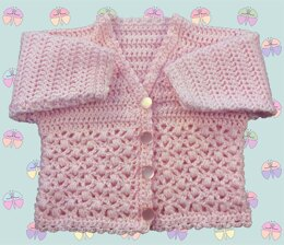 Patterned Panel Cardigan for Baby