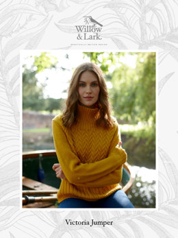 Victoria Jumper in Willow & Lark Ramble
