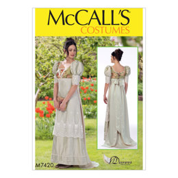 McCall's Misses' Costume M7420 - Sewing Pattern