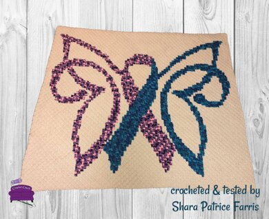Butterfly Ribbon Afghan