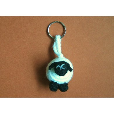 Sammy the Sheep key chain