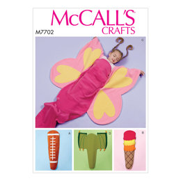 McCall's Kid's Themed Blanket M7702 - Sewing Pattern