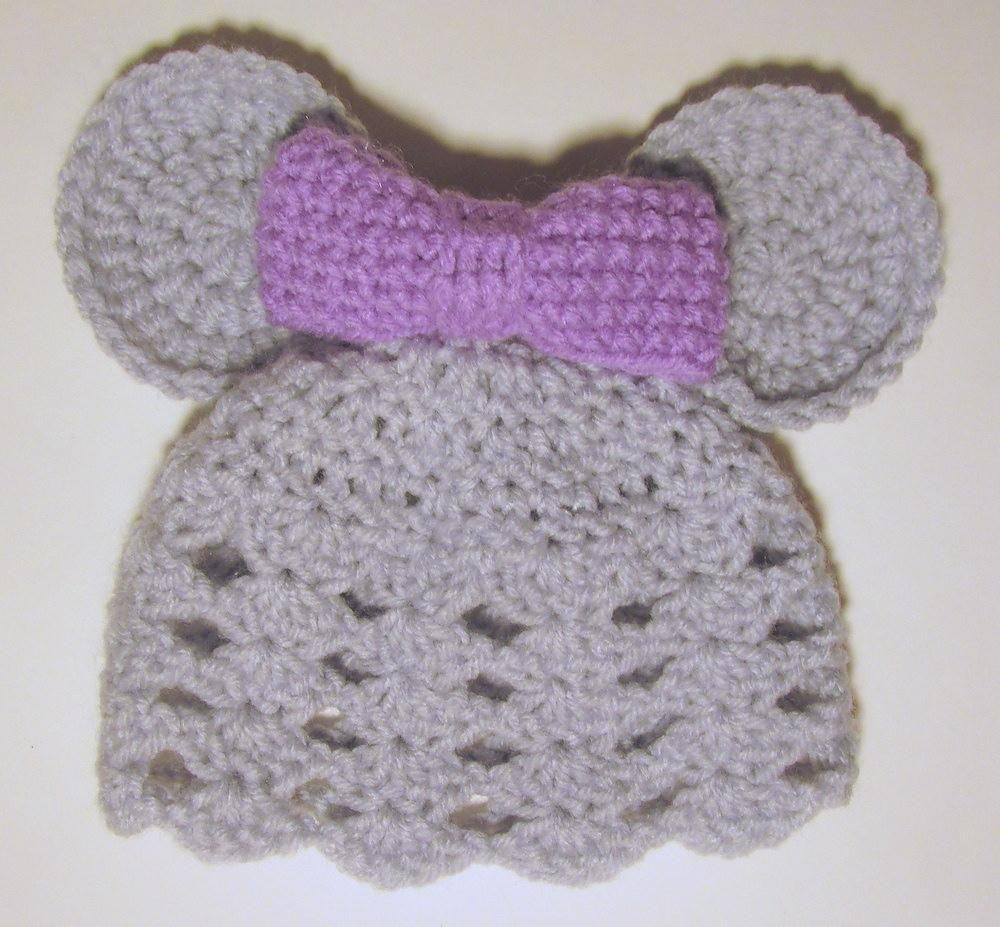 Knitting Pattern Mouse Hat : Mouse Hat Crochet pattern by Heather Sonnenberg Knitting Patterns LoveKni...