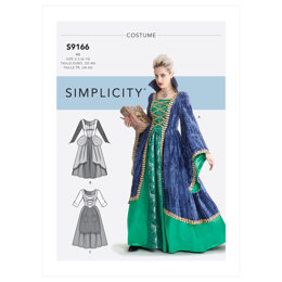 Simplicity Misses' Costumes S9166 - Sewing Pattern