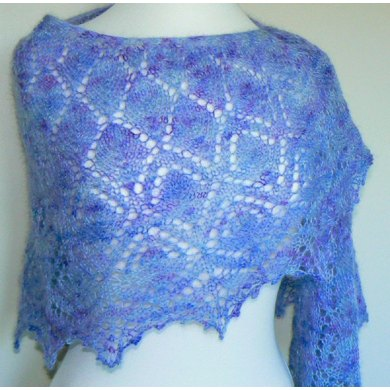 Highland Heather Shawl