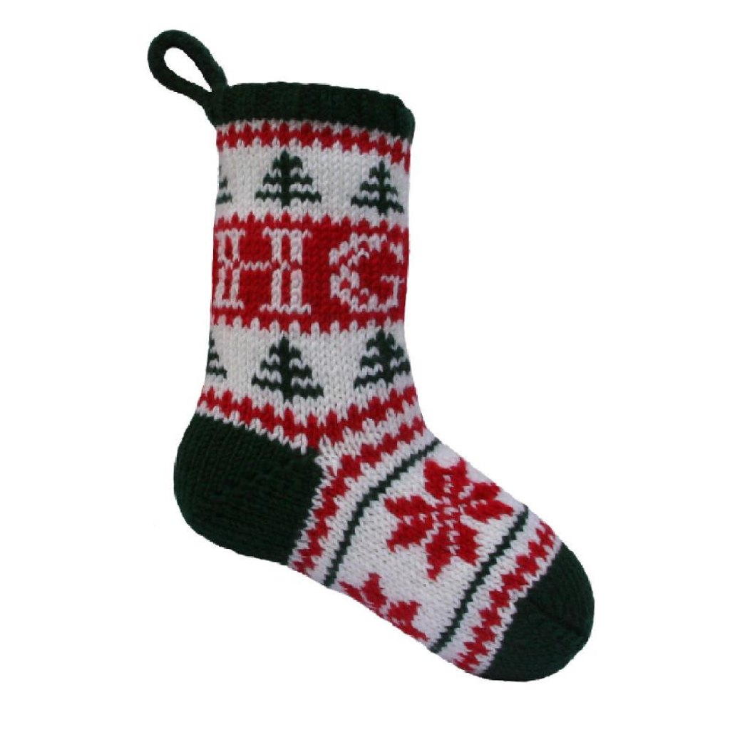 Personalised christmas stocking knitting pattern by knitables personalised christmas stocking zoom bankloansurffo Choice Image