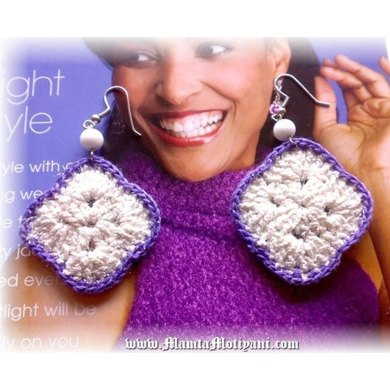 Crochet Earrings Pattern Unique Handmade Jewelry